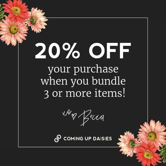 Accessories - 20% Off 3 Item Bundles